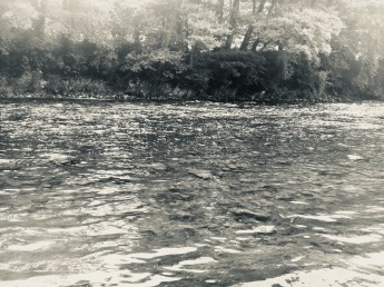 August Afternoon on the Usk