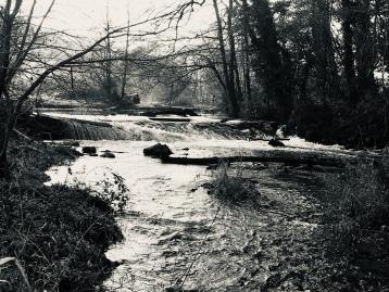 Stong Flow Through The Weir