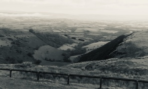 Irfon Valley-A beautiful grey day